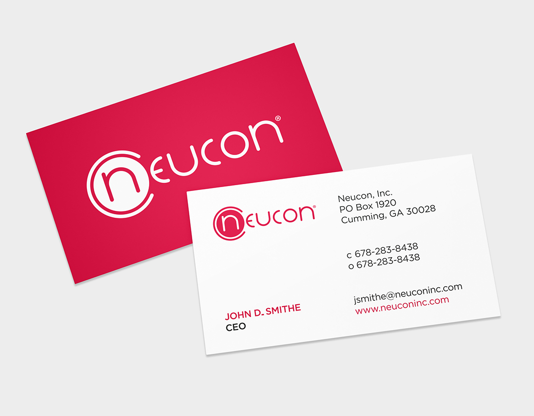 Neucon business card