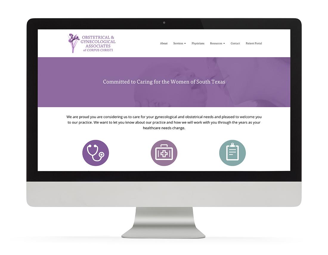 OBGYN Associates of Corpus Christi website
