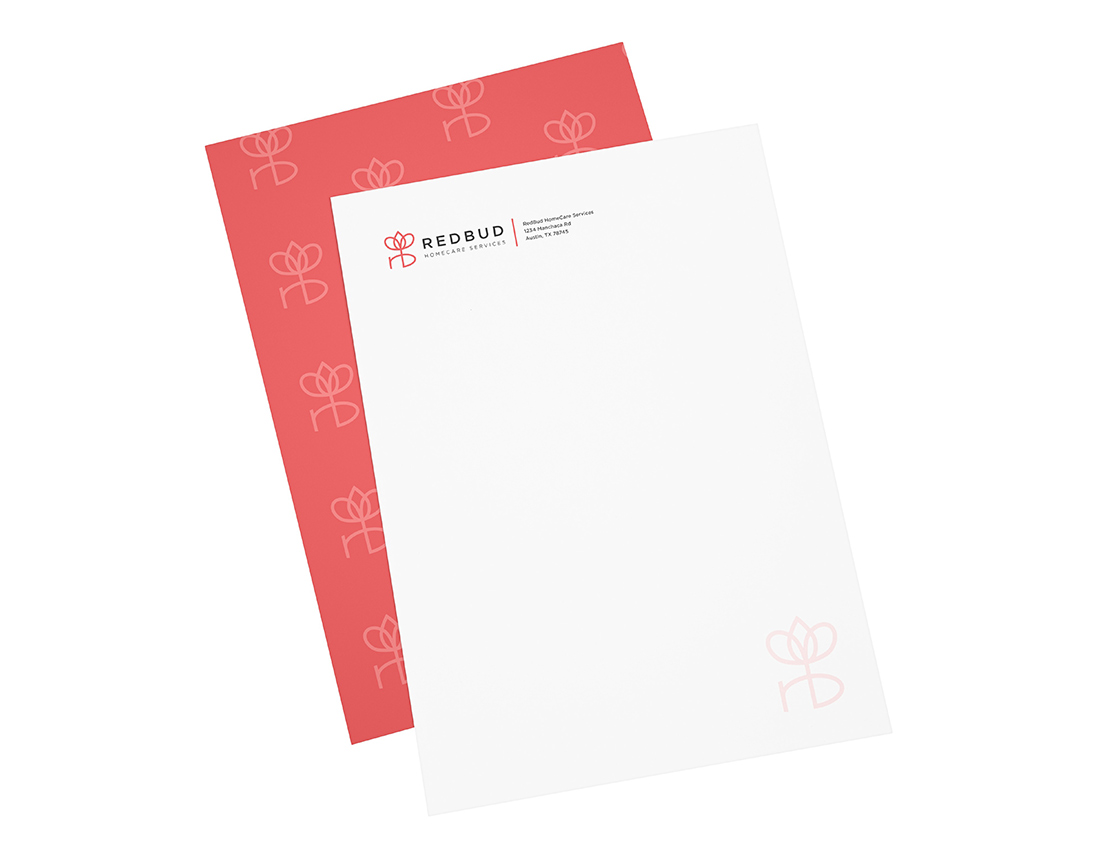 RedBud HomeCare Services notecards