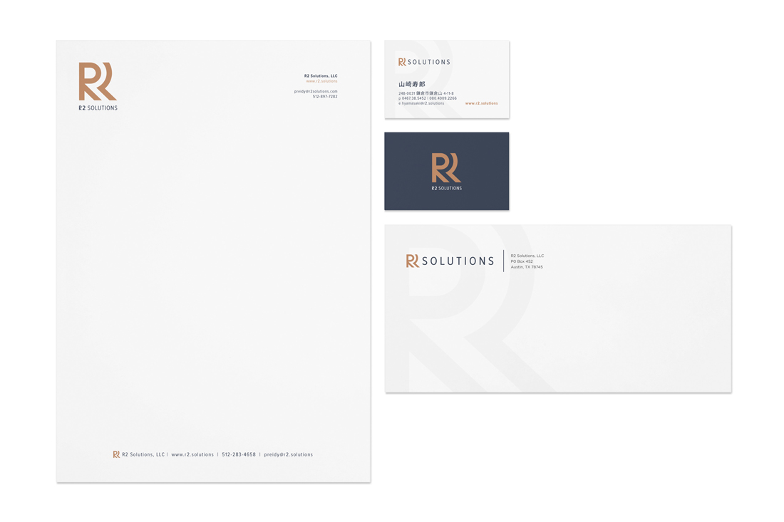 R2 Solutions stationery system design
