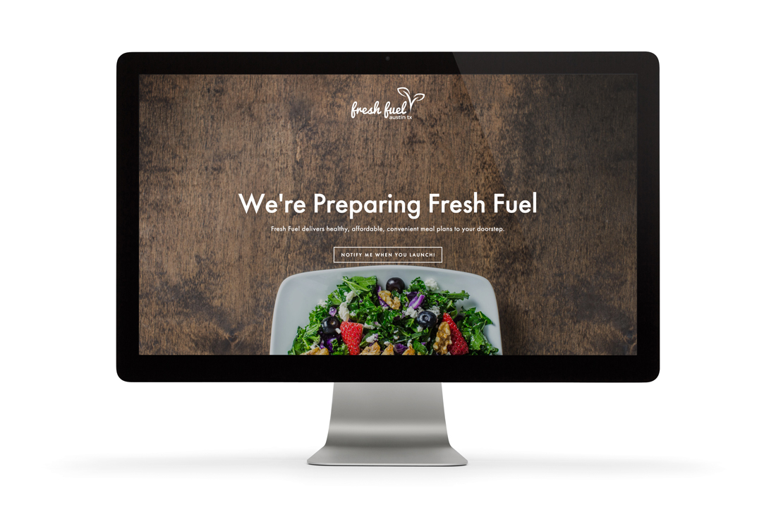 Fresh Fuel Austin website