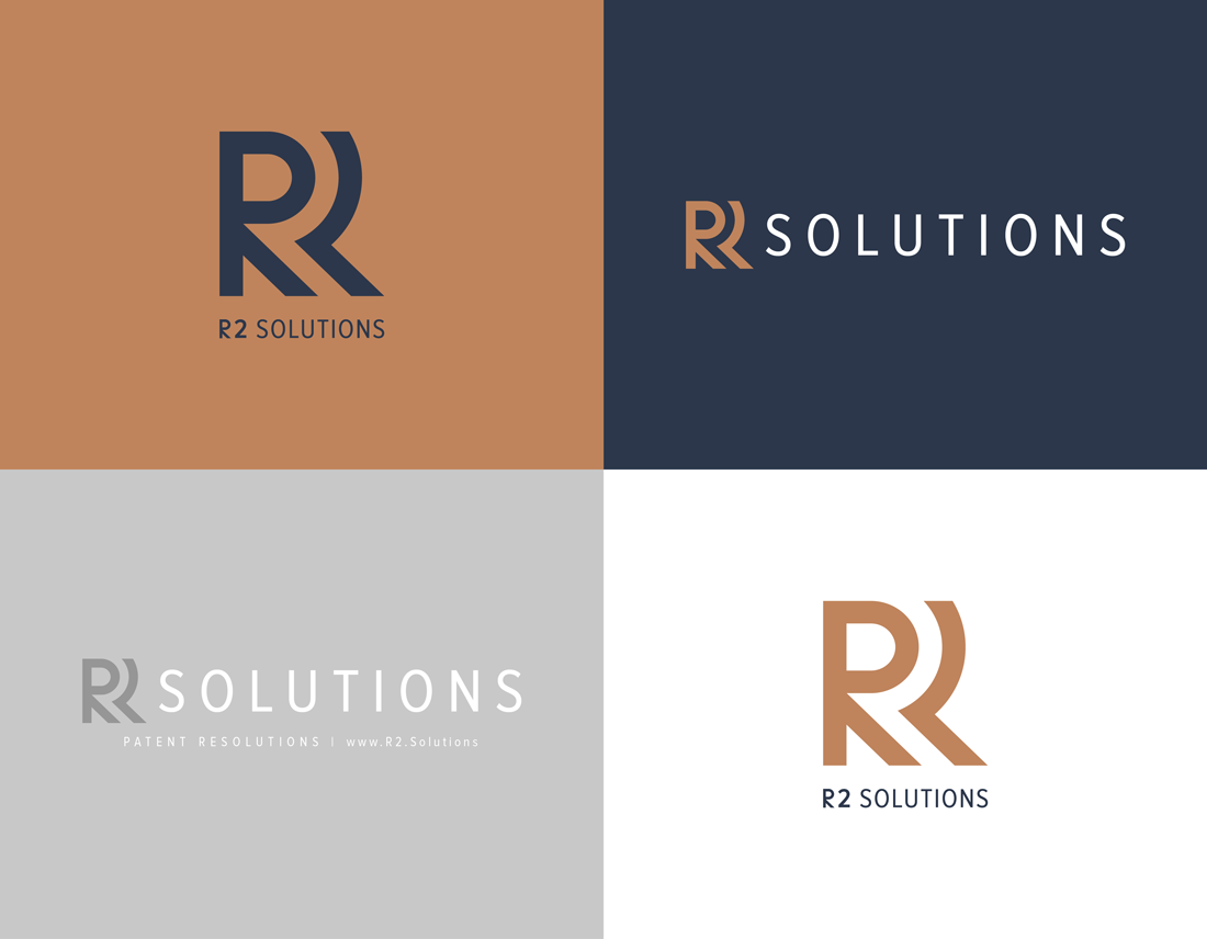 R2 Solutions logo lockups