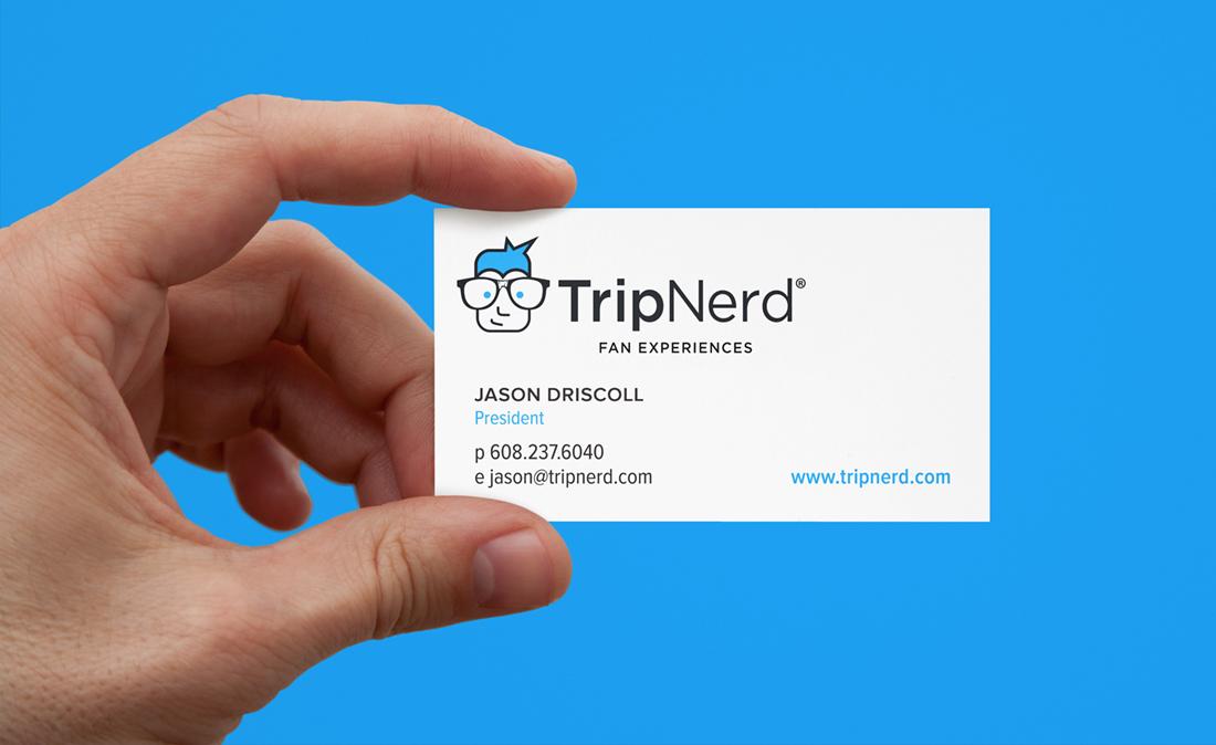 TripNerd business card