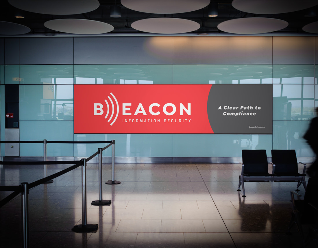 Beacon Information Security airport ad