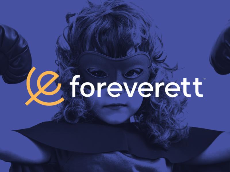 Foreverett logo design by Peacetime Propaganda
