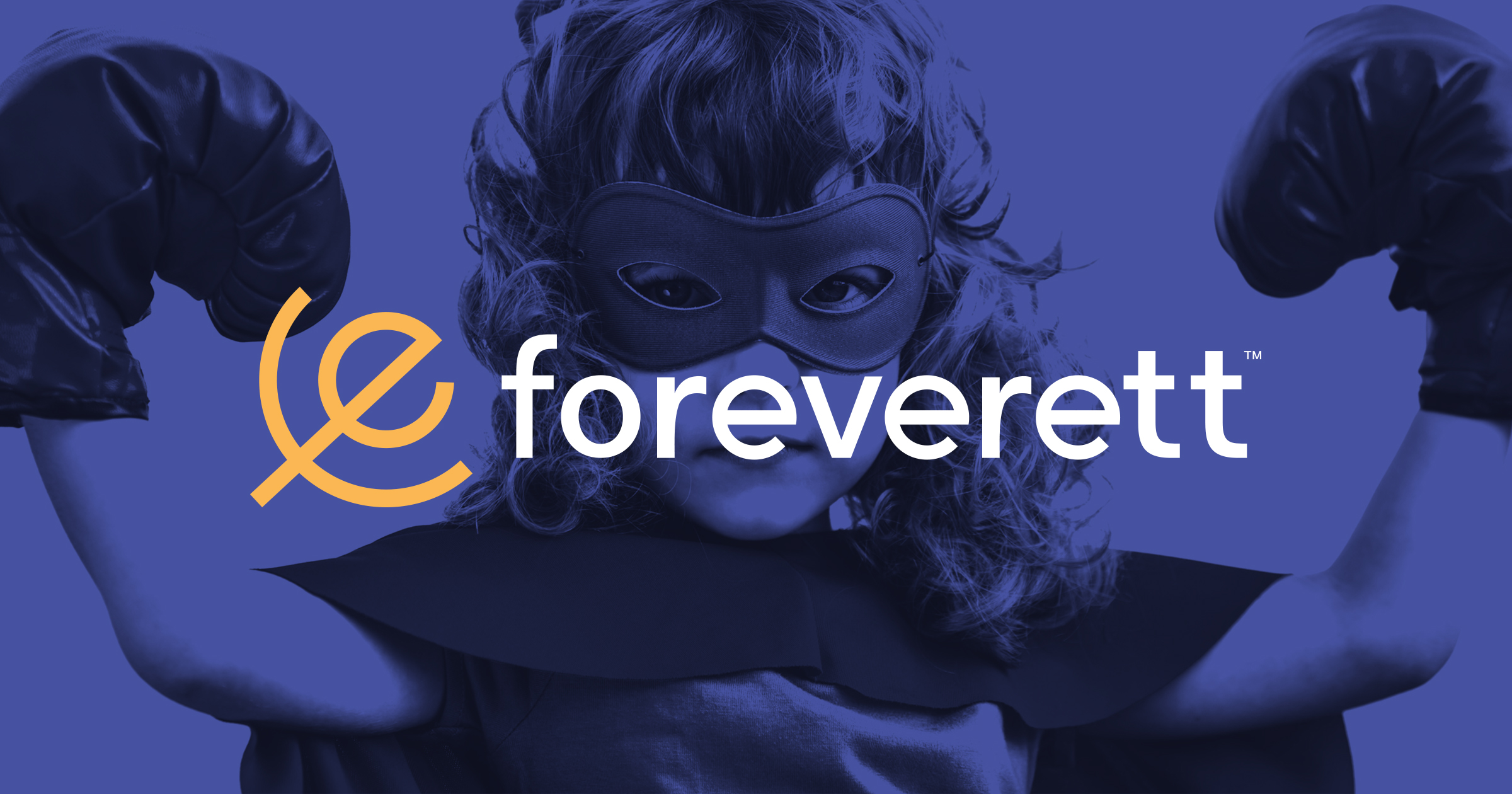 Foreverett logo design by Peacetime Propaganda