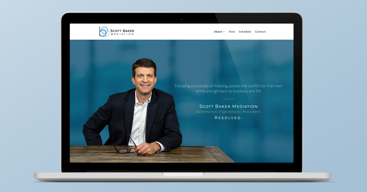 Scott Baker Mediation website